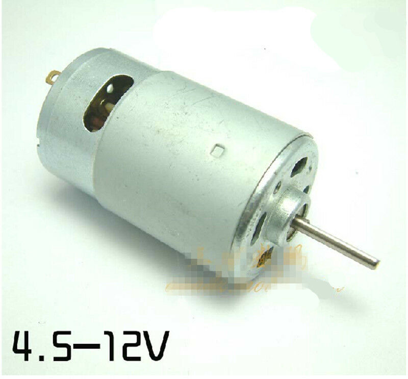 R550 long flat axis high speed dc motor 12v 18000r min for High speed dc motors