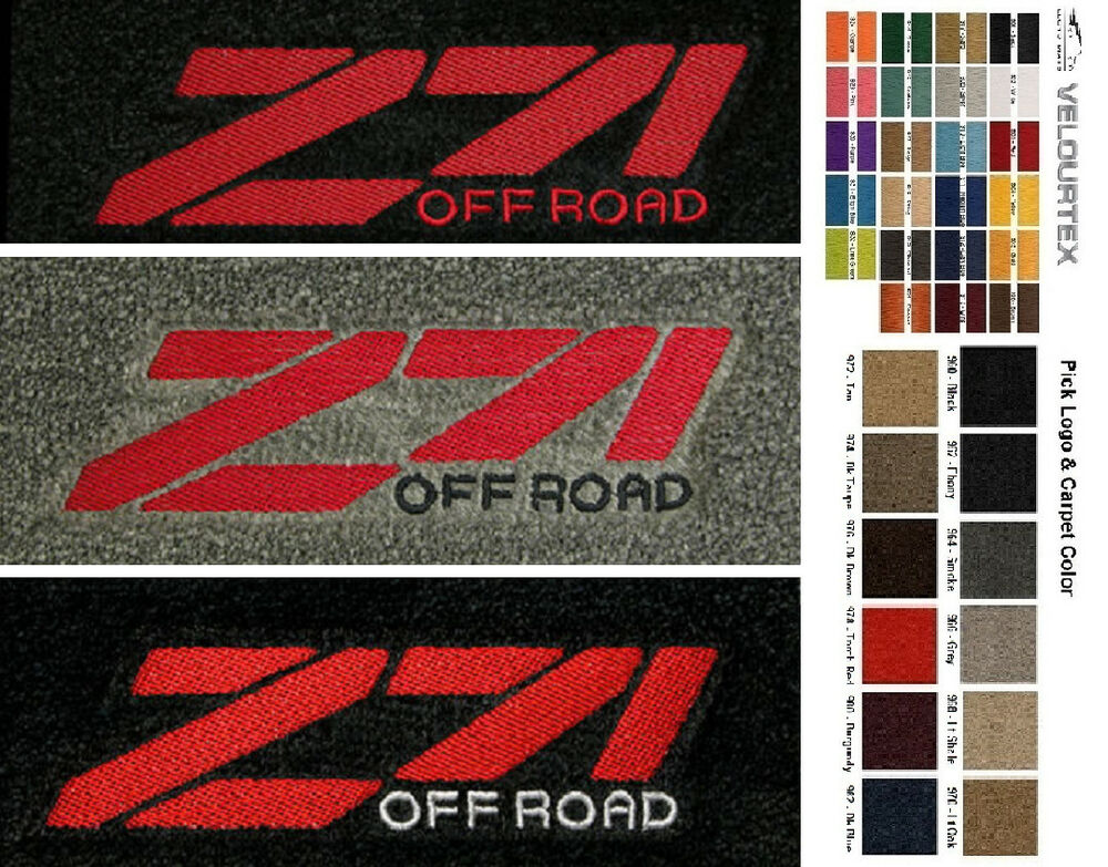 Lloyd Mats Gmc Z71 Off Road Custom Velourtex Front Floor