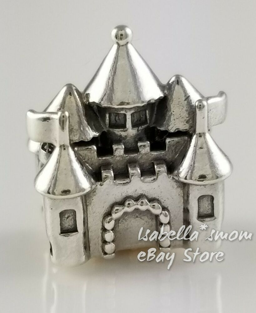 Happily Ever After Retired Pandora Silver 14k Gold Castle