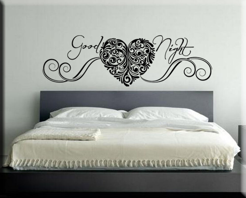 Adesivi murali wall stickers sticker adesivo murale frasi - Wall stickers camera da letto ...