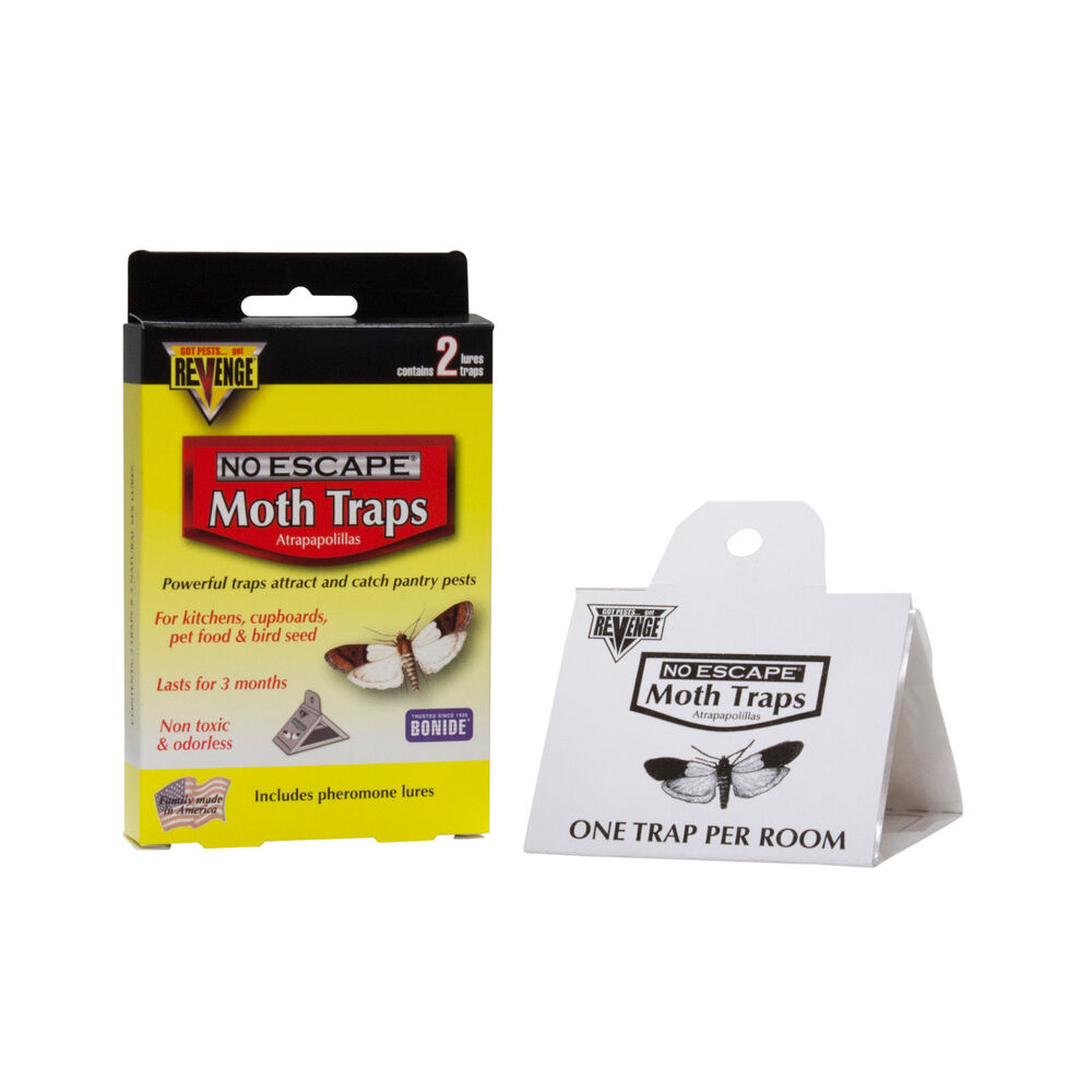2 Pantry Moth Bird Seed Pet Food Moth Traps Indian Meal