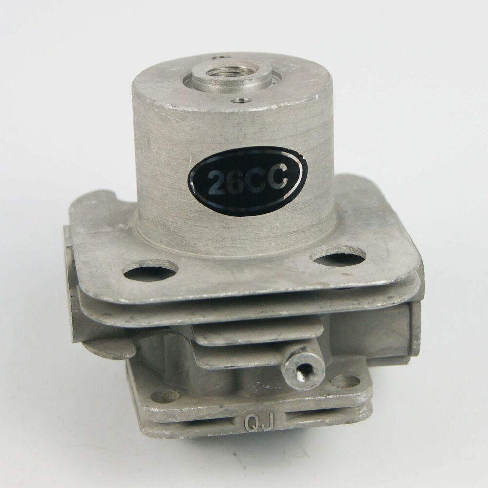 Cylinder Head For Cylinder Piaggio Liquid Cooled: Water Cooled Cylinder Head Fit 26cc ZENOAH G260PUM Marine