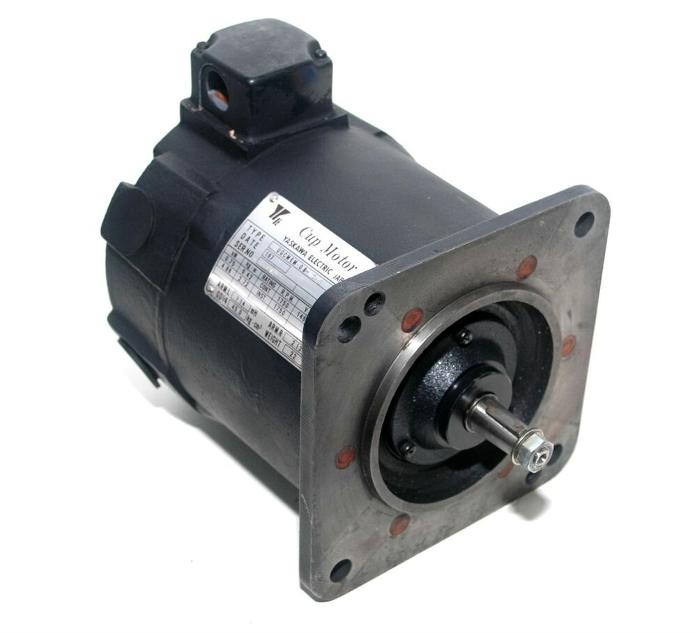 Yaskawa ugcmem 08 mc45 motors dc servo pz4 ebay for Servo motors and drives inc