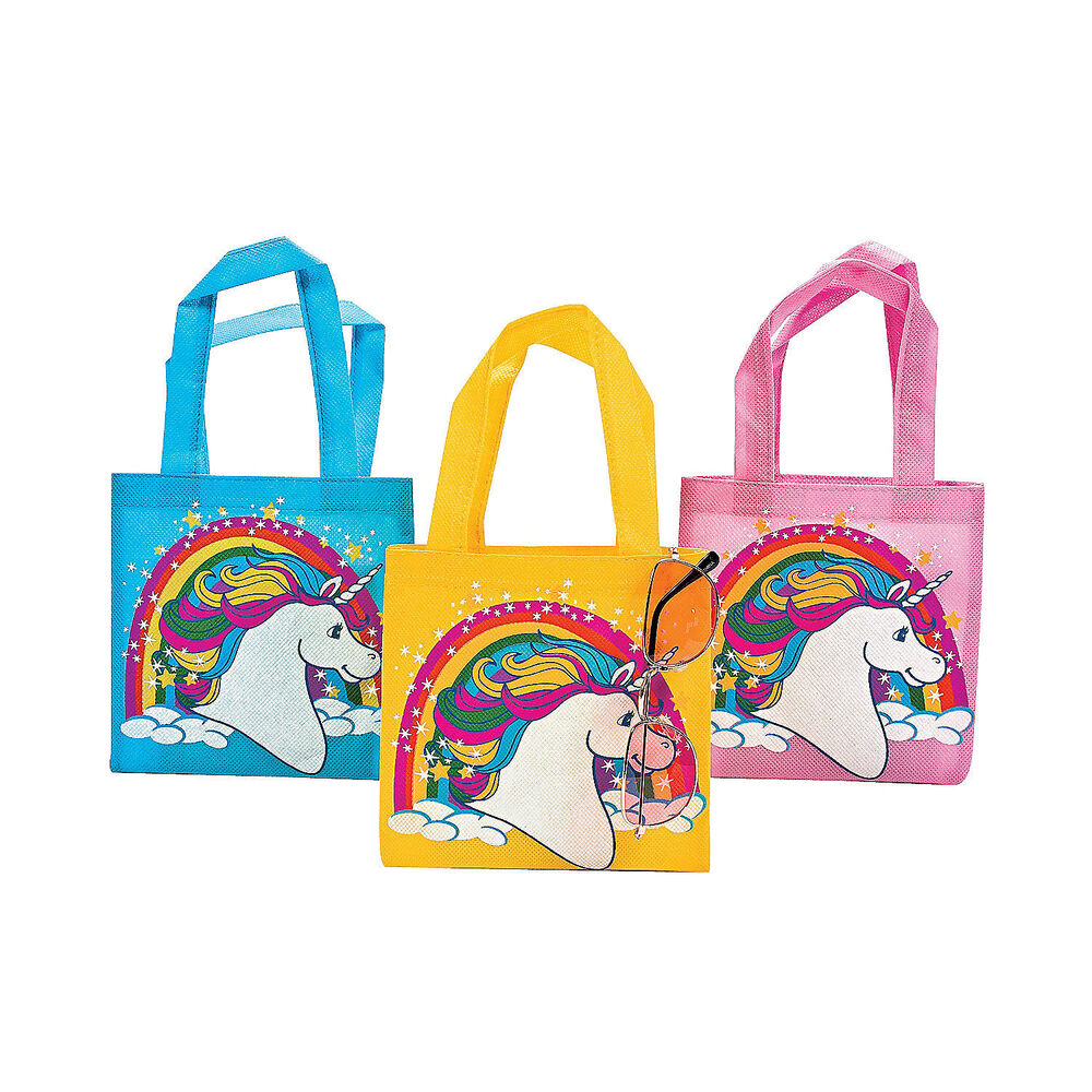 12 Birthday Everyday Party Favor MINI Goody Treat Tote