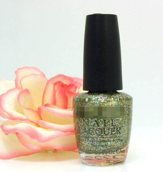 OPI Nail Polish Lacquer Glow Up Already! .5 oz Green Gold ...