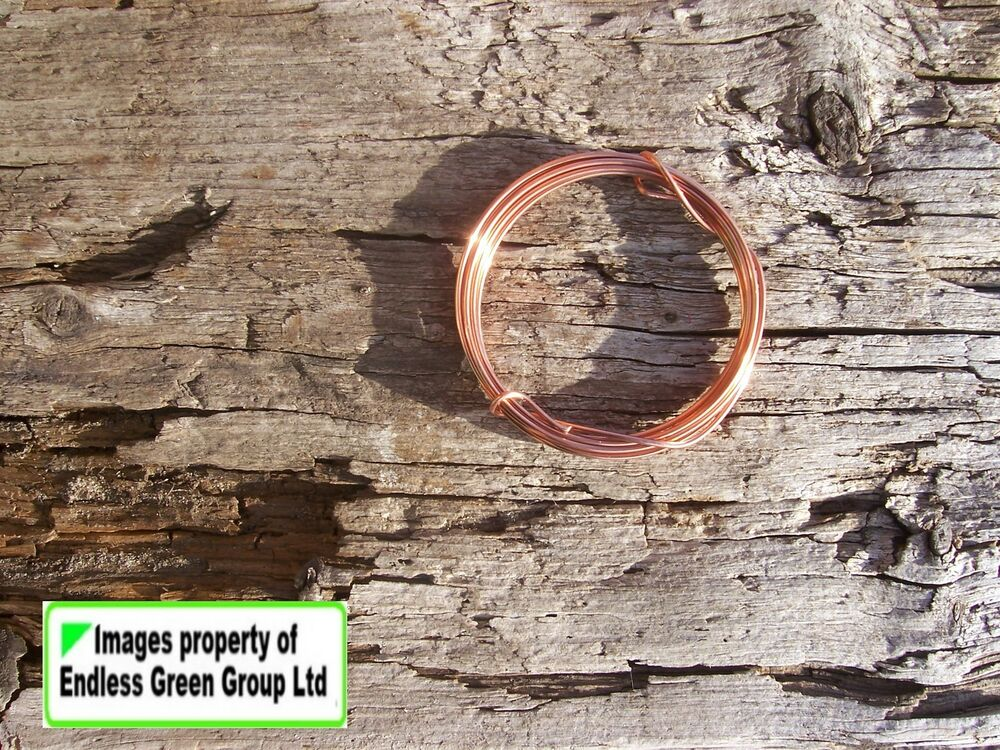 Solid Copper Wire Ampacity : Solid copper wire for jewellery making hobby and craft