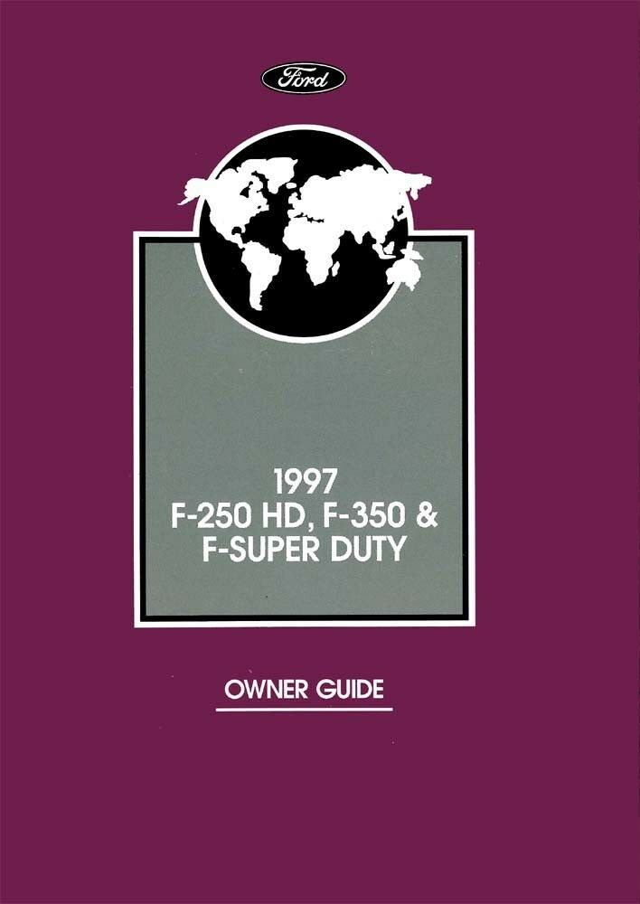 ford   hd   super duty truck owners manual