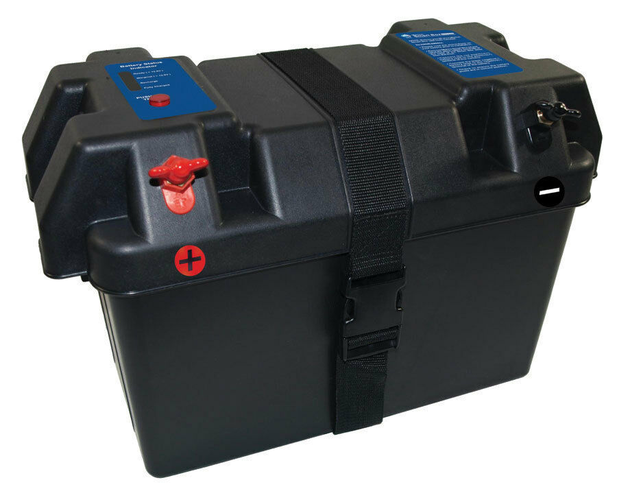 Smart Marine Battery Box For Rv Outdoor Solar Power Ebay