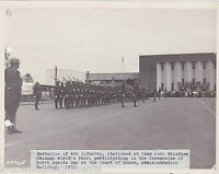 6th INF. BATTALION CAMP JOHN WHISTLER CHICAGO WORLDS FAIR MILITARY FILE PHOTO