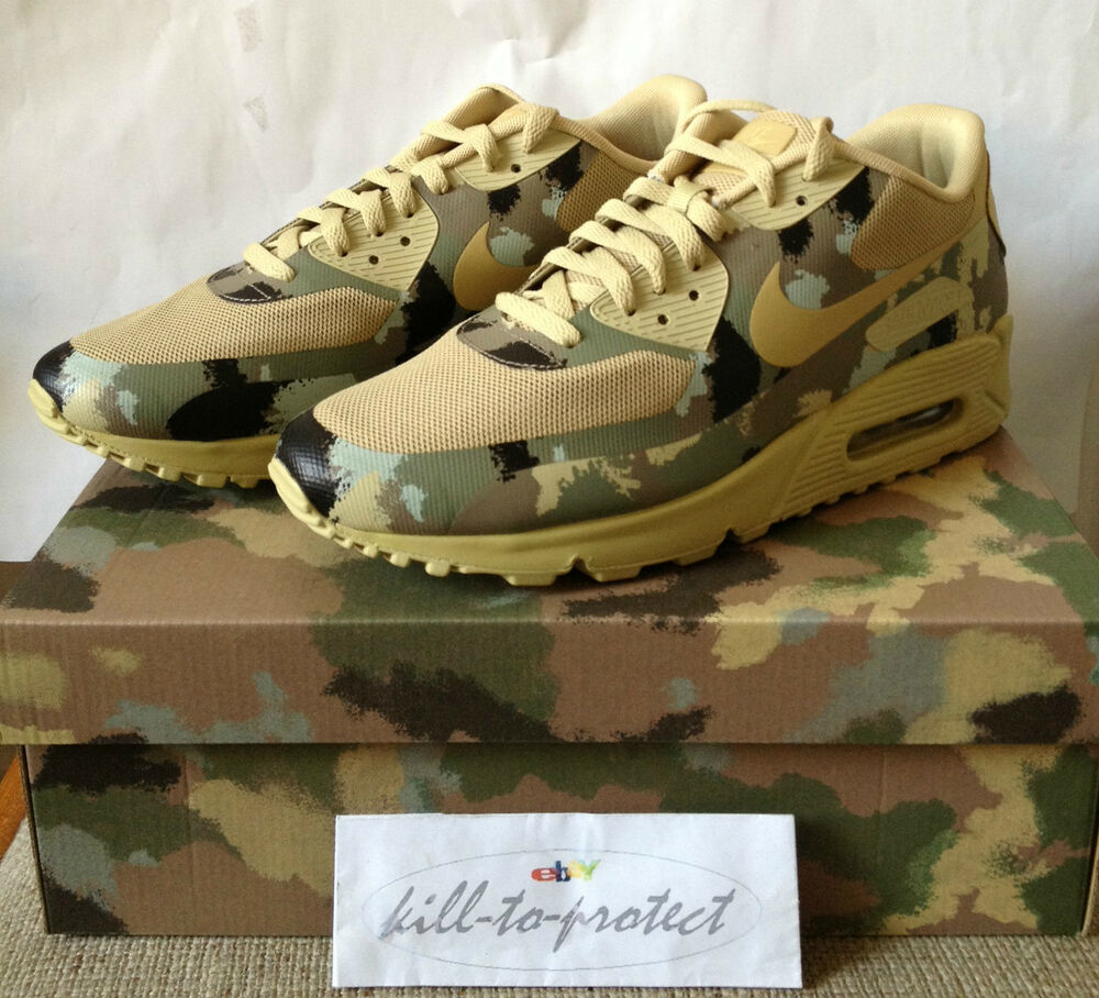 nike air max 90 country camo pack italy sp us uk7 8 9 10. Black Bedroom Furniture Sets. Home Design Ideas