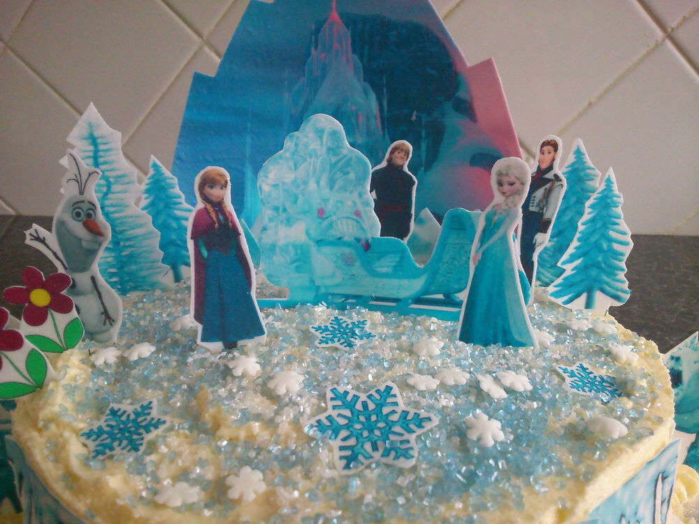 Frozen Birthday Cake Decorations Uk Image Inspiration of Cake and