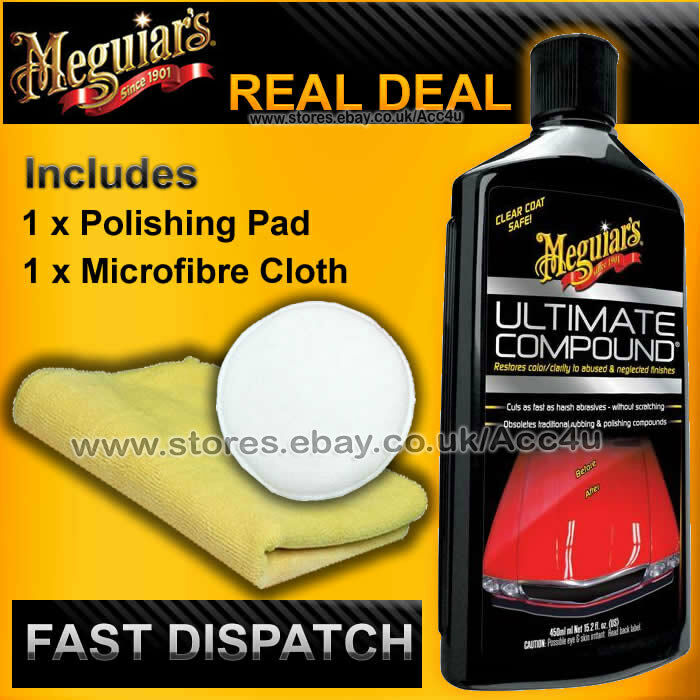 meguiars car paint ultimate rubbing polishing compound. Black Bedroom Furniture Sets. Home Design Ideas
