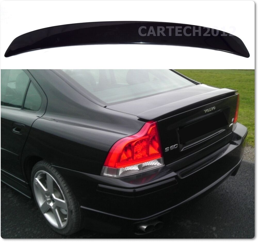 volvo s60 rear boot spoiler tuning ebay. Black Bedroom Furniture Sets. Home Design Ideas