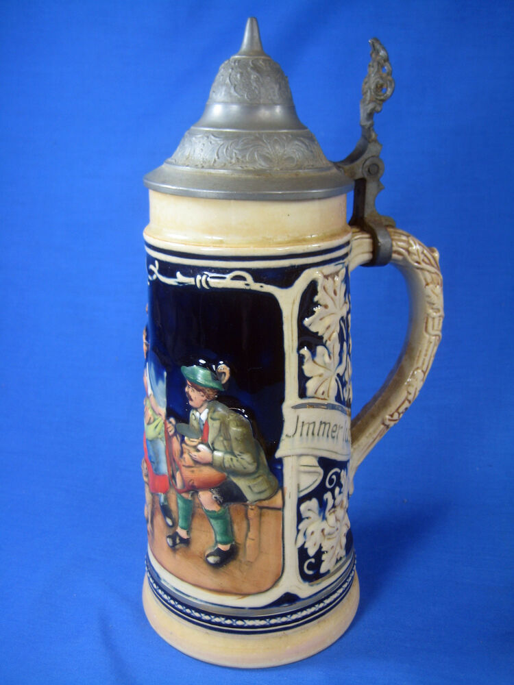 vintage marzi and remy german stein model 2029 with markings 0 5l ebay. Black Bedroom Furniture Sets. Home Design Ideas