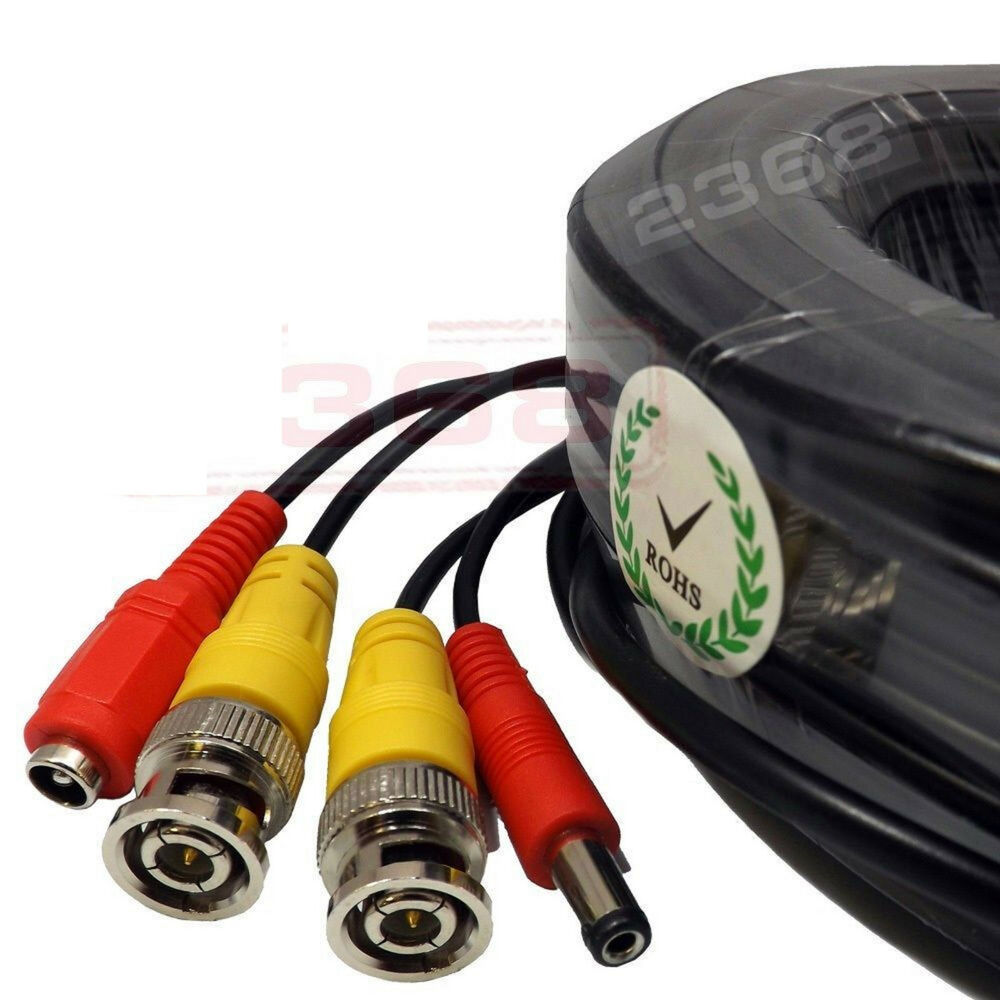 High Quality Video Power Bnc Rca Cable For Night Owl Cctv