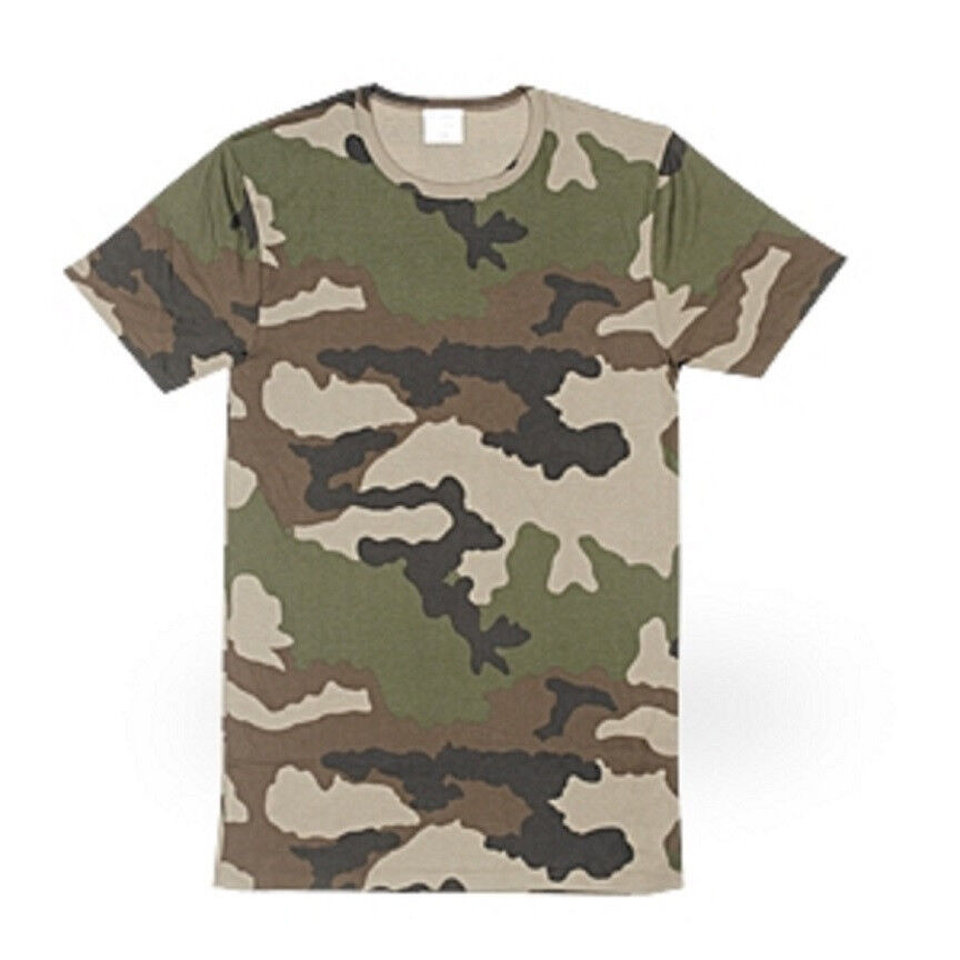 tee shirt camo woodland new military issue 5 pack ebay. Black Bedroom Furniture Sets. Home Design Ideas