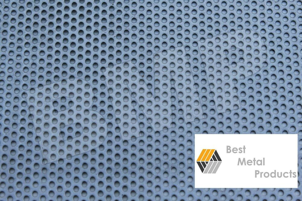 304 Stainless Steel Perforated Sheet 040 Quot X 18 Quot X 18 Quot 1