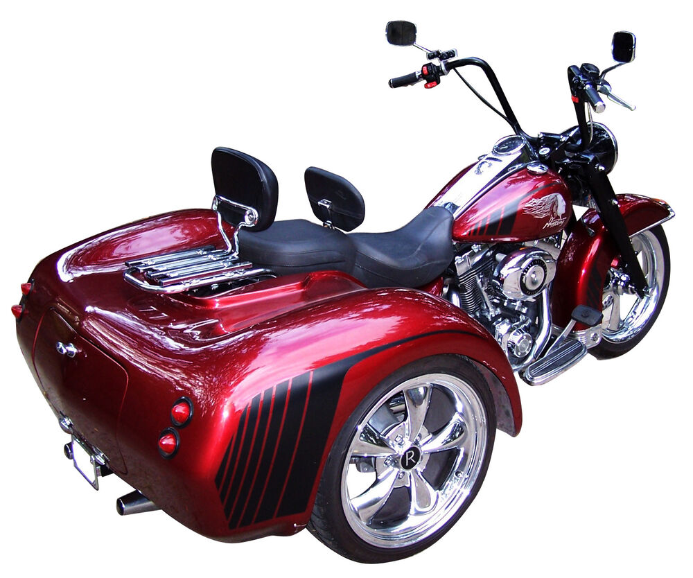 independent suspension trike conversion kit body package for harley davidson ebay. Black Bedroom Furniture Sets. Home Design Ideas
