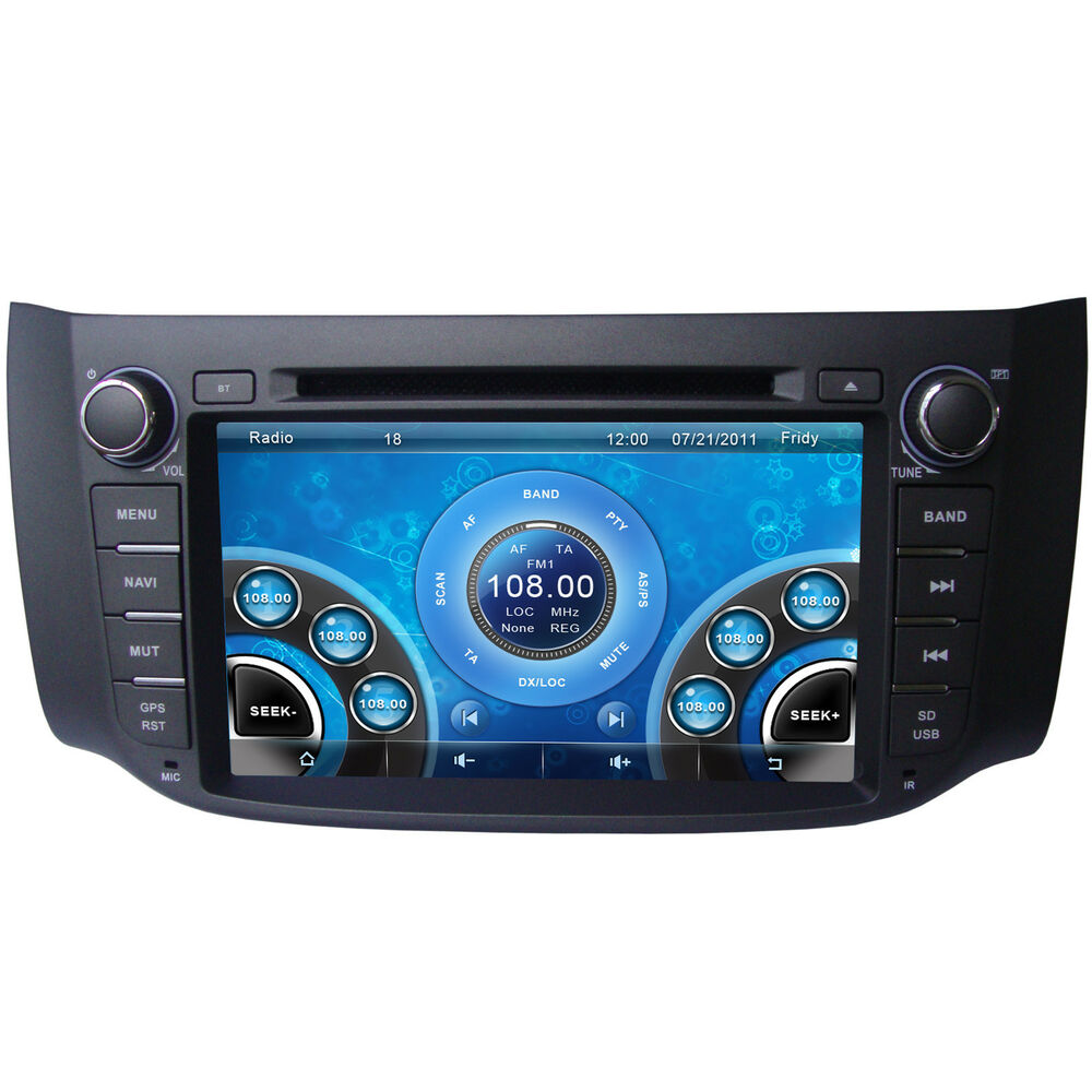 """8"""" Car Stereo DVD Player For Nissan Sentra 2012-2014 ..."""