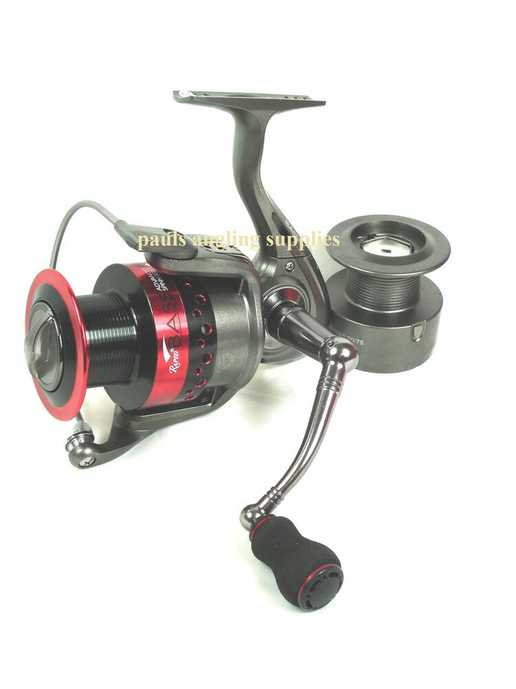Sea fishing bass spinning reel lineaeffe rapid various for Ebay fishing reels