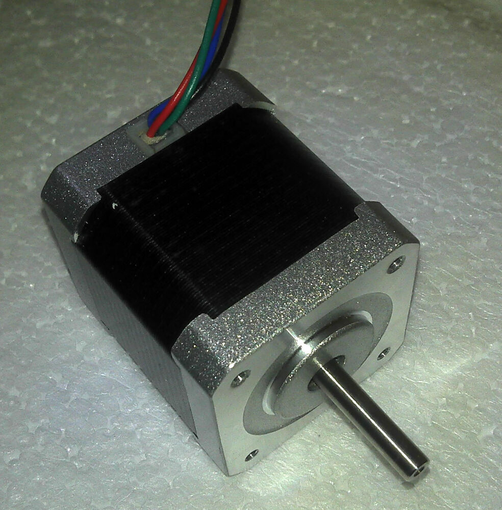5 high torque nema 17 stepper motors ideal for reprap and for Nema design b motor
