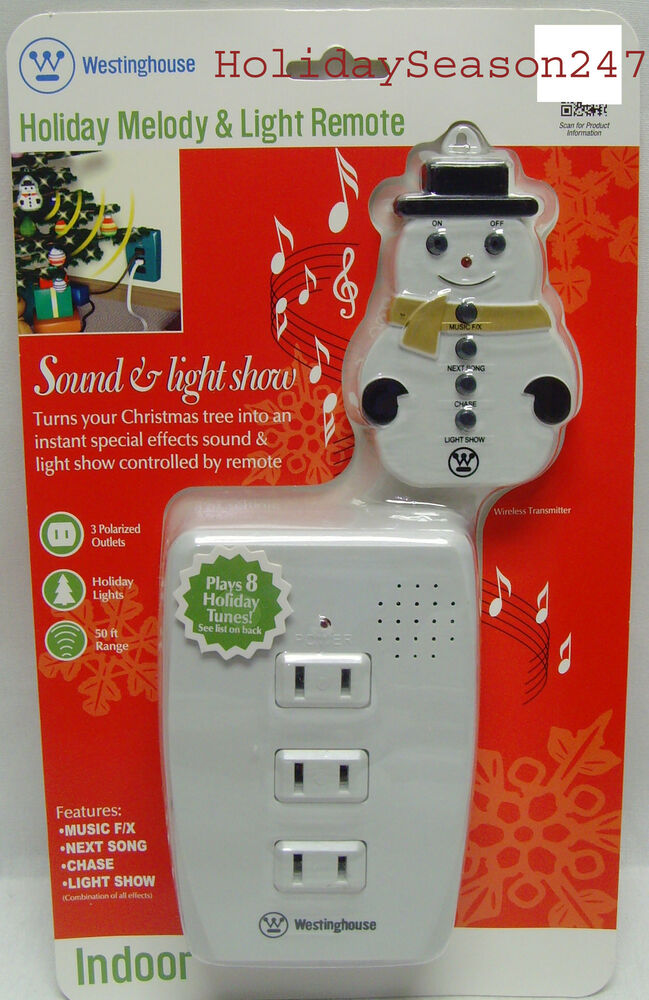 Attractive Westinghouse Holiday Musical Sound U0026 Light Show Blinker Play Christmas Music  NEW 686140280801 | EBay