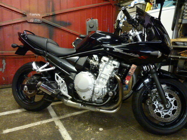 suzuki bandit exhaust 1250 650 gsf gsx 2007 2012 xb08ss extremeblaster muffler ebay. Black Bedroom Furniture Sets. Home Design Ideas