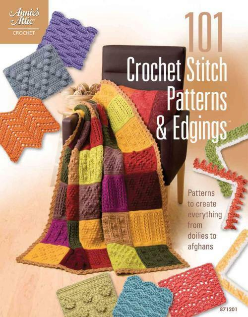 Annies Attic Crochet : 101 CROCHET STITCH PATTERNS & EDGINGS - ANNIES ATTIC (PAPERBACK) NEW...