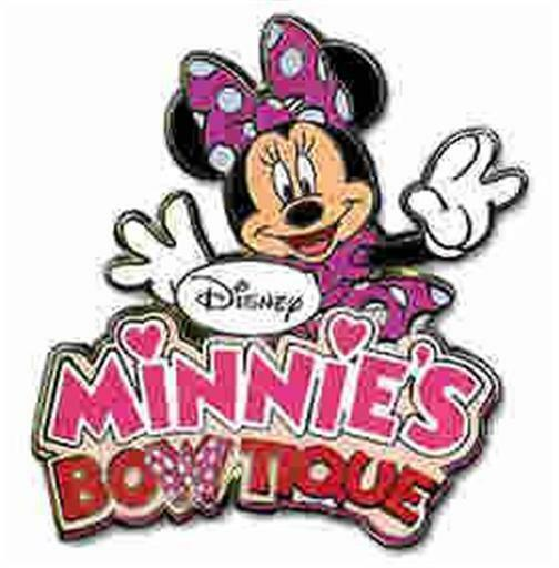 0793433a5cc Details about MINNIE S BOWTIQUE LOGO Boutique MINNIE Mouse IN PINK POLKA  DOTS DISNEY PIN