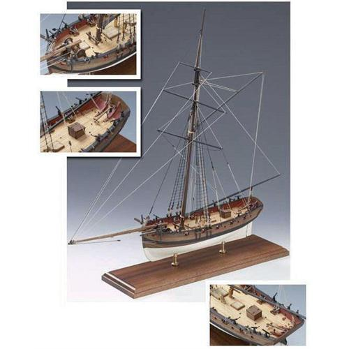 Victory Models Hms Cutter Lady Nelson 1 64 Scale Wooden