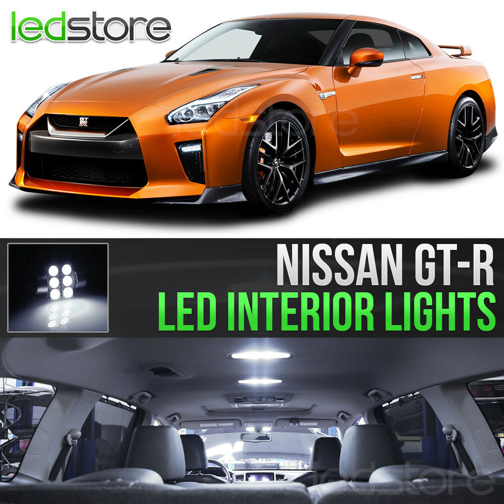 White led lights interior kit for 2009 2015 nissan gt r gtr ebay 2015 nissan altima interior lights