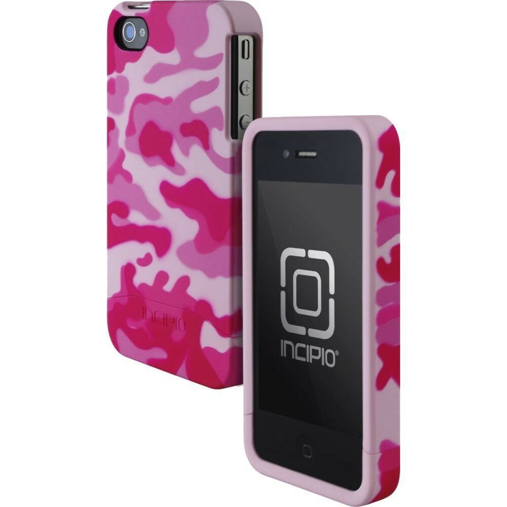 Incipio Edge Two-Piece Hard Shell Case iPhone 4/4S Pink Camo Relail ...