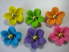 24 EDIBLE CAKE TOPPERS CUPCAKE DECORATIONS FLOWERS