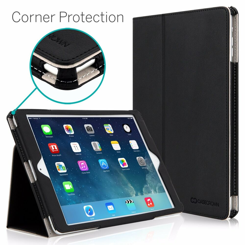 casecrown bold standby pro stand case for ipad air corner protection ebay. Black Bedroom Furniture Sets. Home Design Ideas