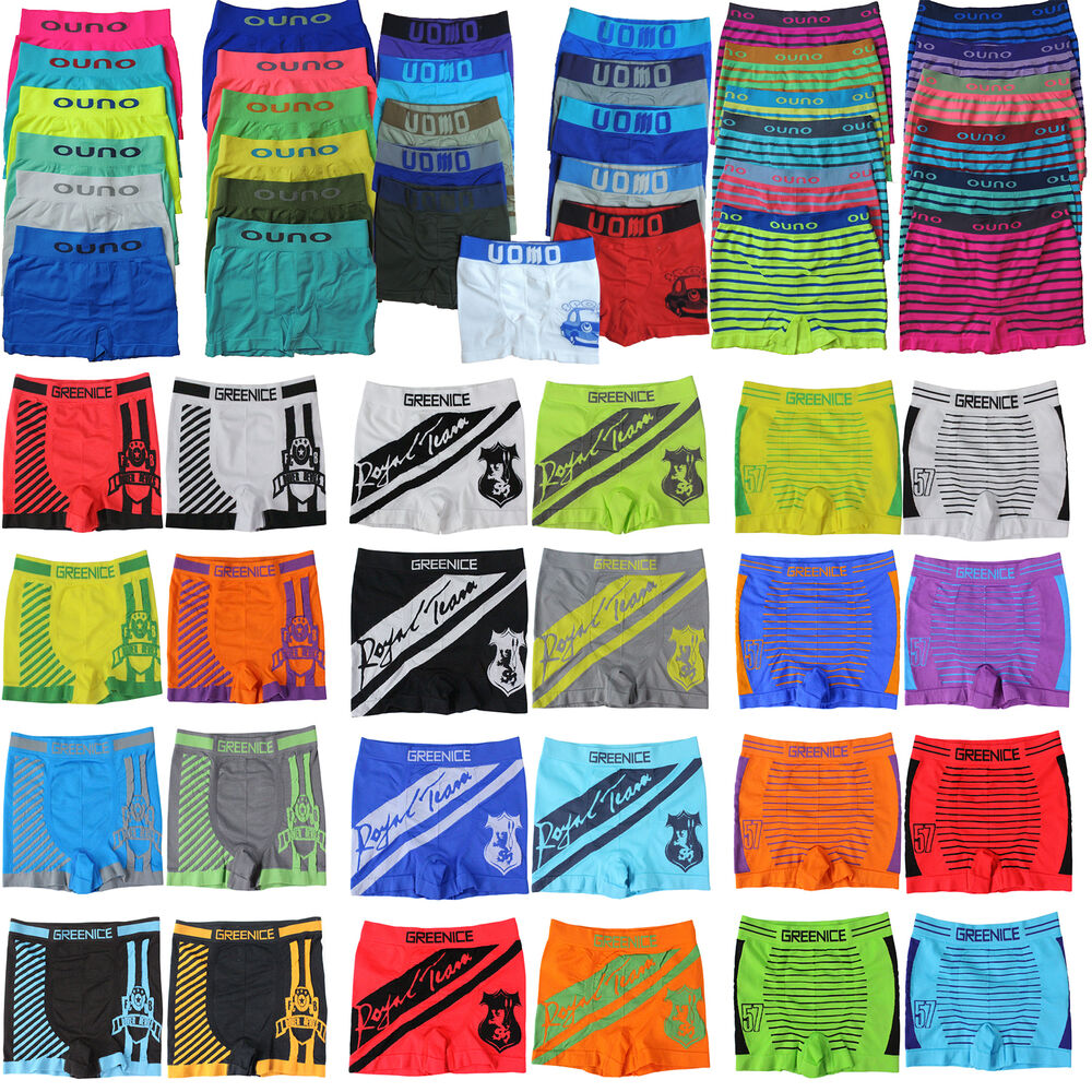 6 kinder jungen boxershorts uomo boxershort 80 134 140. Black Bedroom Furniture Sets. Home Design Ideas