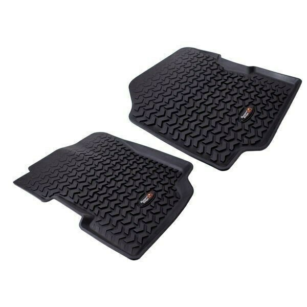 Rugged Ridge All Terrain Front Floor Liners, Black 76-95