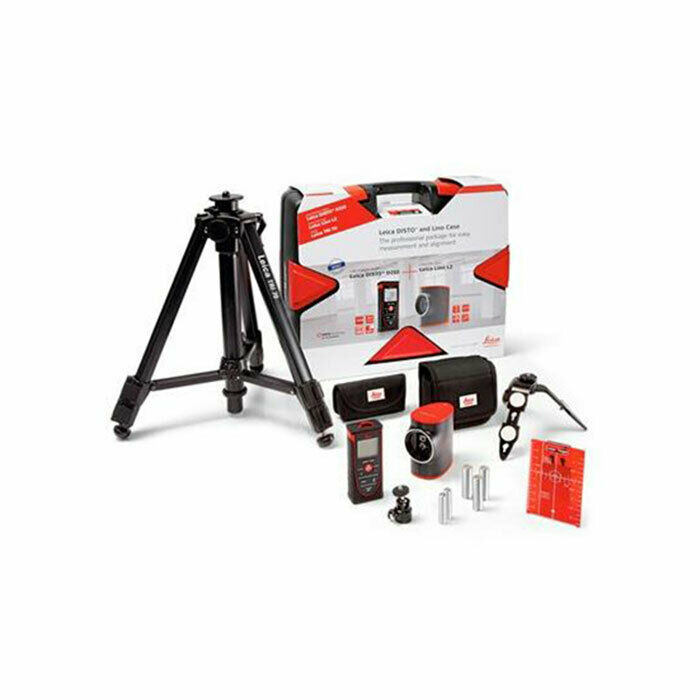 leica geosystems 806656 disto d210 laser distance meter kit with leica lino l2 ebay. Black Bedroom Furniture Sets. Home Design Ideas