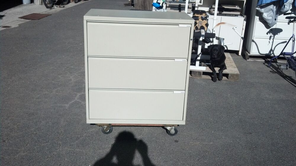 File Cabinet 3 Drawer Lateral 36 Quot Meridian We Deliver