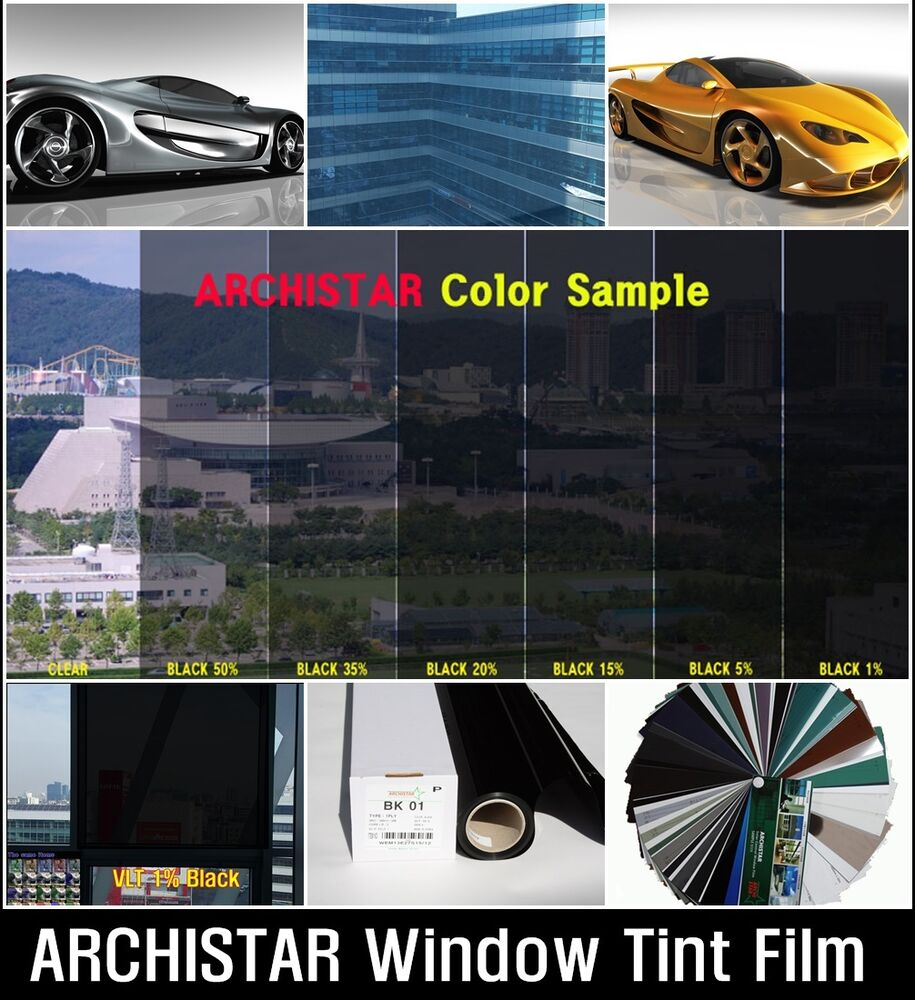 W 30 vlt 1 best dark black solar film tint window safety for Window tint film
