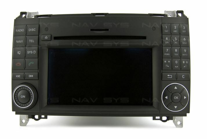 comand aps w169 w245 ntg 2 5 per mercedes classe a b vito sprinter autoradio gps ebay. Black Bedroom Furniture Sets. Home Design Ideas