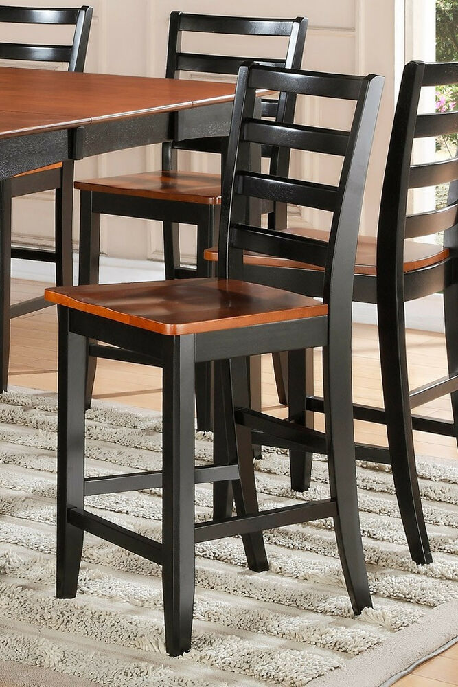 Set of 6 Fairwinds kitchen counter height chairs plain
