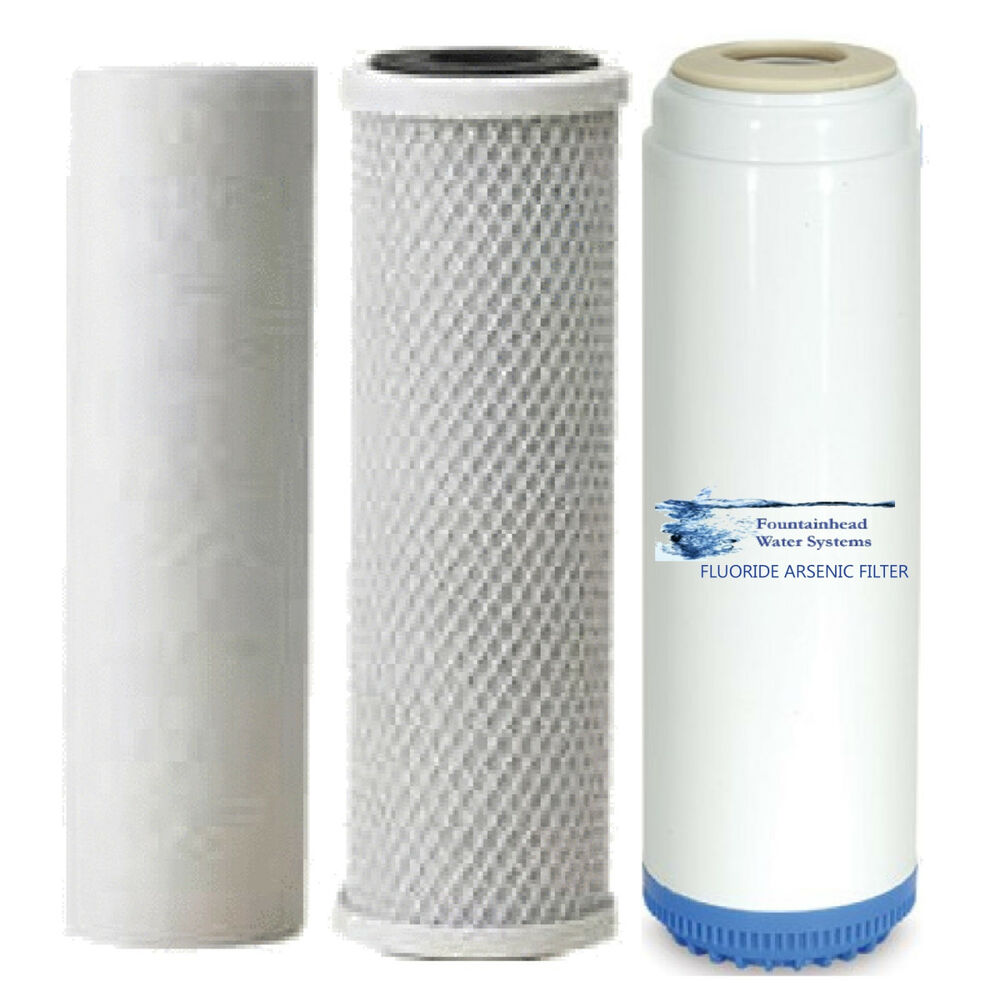 Sediment/Fluoride/Arsenic/Carbon Block Filters Upgrade or Refill ...