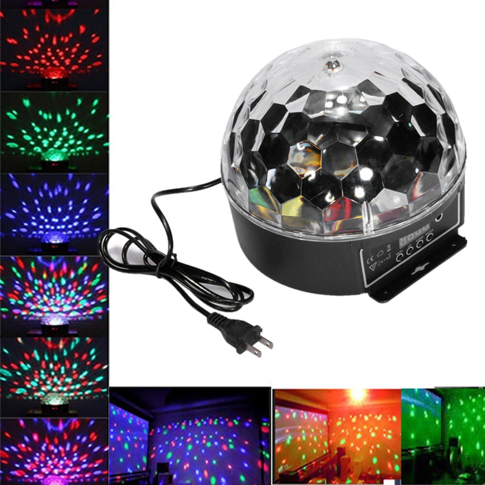 Dmx512 20w disco dj stage projecteur digital led rgb krystal laser lampe party ebay for Projecteur led laser