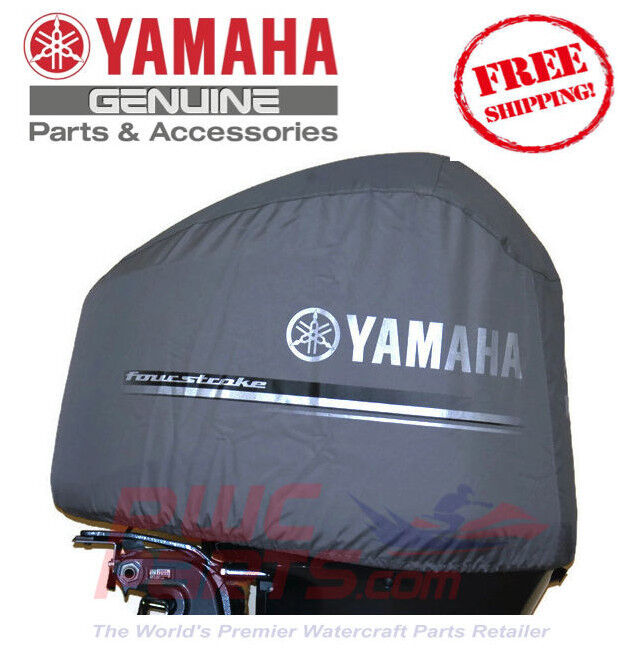 Yamaha oem heavy duty 4 2l offshore outboard motor cover for Yamaha boat motor covers