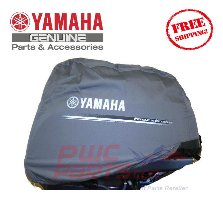 Yamaha oem outboard motor cover 4 stroke f20 f15c new for Yamaha boat motor cover