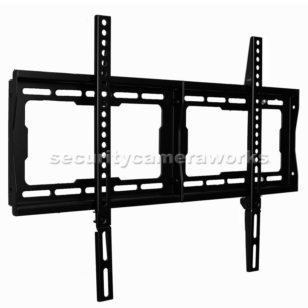 led lcd plasma tv wall mount for 32 75 samsung un55j6300 un60hu8550 lg vizio b8g ebay. Black Bedroom Furniture Sets. Home Design Ideas