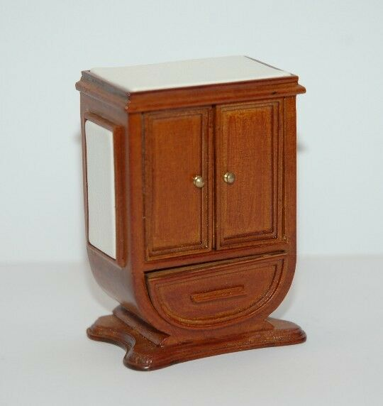 112th Scale Art Deco Bedside Table