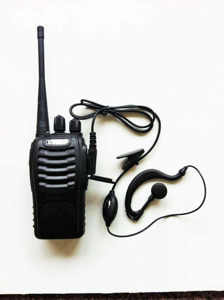 Radio Walkie Talkie Headset Package For Retail Restaurant