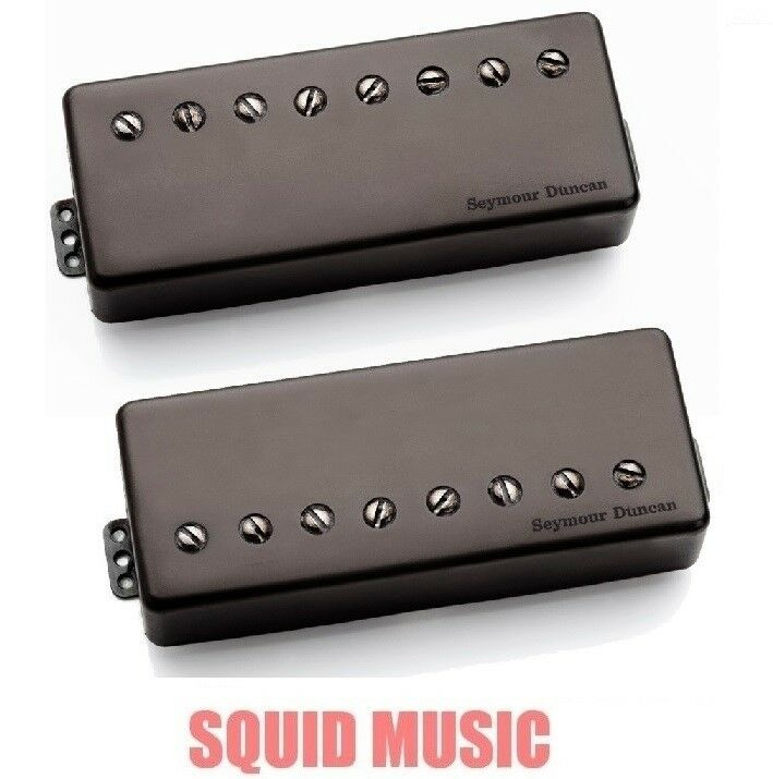 seymour duncan nazgul sentient 8 string humbucker pickup set black metal cover 601202228041 ebay. Black Bedroom Furniture Sets. Home Design Ideas