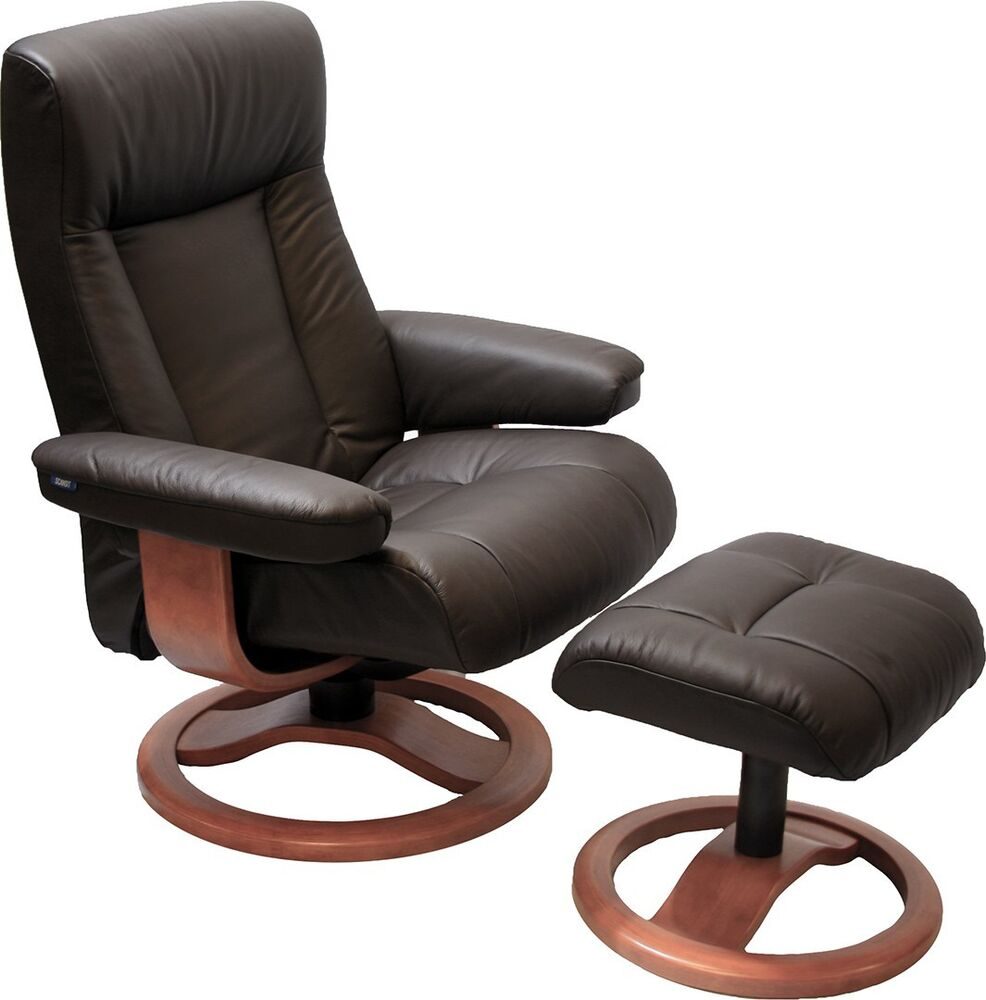 Hjellegjerde scansit 110 havana leather scan sit ergonomic for Ottoman to sit on